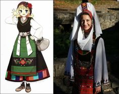 Traditional Clothes of Bulgaria