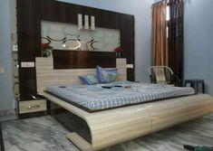 For most homeowners, a beautiful house is something worth coming home to. This is the reason why a lot of people invest money and time in creating the. Luxury Bedroom Design, Bedroom Bed Design, Bedroom Furniture Design, Bed Furniture, Bedroom Designs, Interior Design, Bed Designs With Storage, Wood Bed Design, Bedroom Cupboard Designs