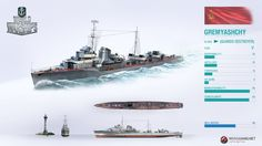 Gremyashchy - Gnevny Class Destroyer, Russia