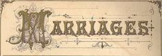Marriage and Divorce Records for Charleston, Strawberry Ferry, Johns Island, and Camden, 1865-1866 from Lowcountry Africana website