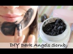 The dark angles cleanser is a super popular lush exfoliating cleanser - and often it is sold out in stores, so i wanted to give you a homemade option - which. Homemade Facials, Homemade Beauty, Diy Beauty, Beauty Tips, Dark Angels Lush, Green Tea Toner, Lotion, Lush Products, Facial Products