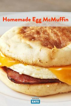 Your homemade Egg McMuffin improves upon the classic.