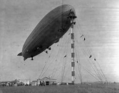 November 25, 1924: The dirigible LZ 126 is commissioned into the U. S. Navy as USS Los Angeles (ZR-3) at Naval Air Station Anacostia in Washington, D. C.