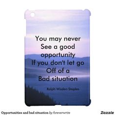 #Opportunities and bad situation iPad mini case
