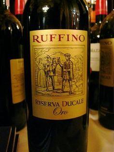 Ruffino Riserva Ducale Oro  Yum