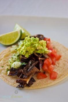 Vegan Portobello Asada Tacos: packs a flavor punch!