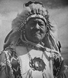 Richard Sanderville, Blackfeet