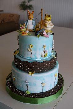Beatrix Potter Baby Shower Cake