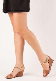 4889a094e6f3 Chie Mihara - Respito Wedge Sandal Peach Suede - Jildor Shoes Wedge Sandals