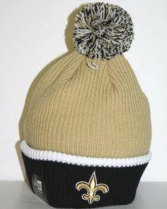 New Orleans Saints New Era NFL Fireside Cuffed Knit Hat by New Era.  19.97. de396173af3d