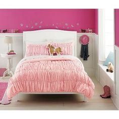 Circo™ Pink Dot Banded Comforter Set - Pink