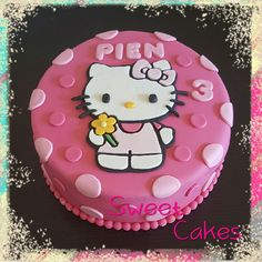 Hello Kitty taart by Sweet Cakes