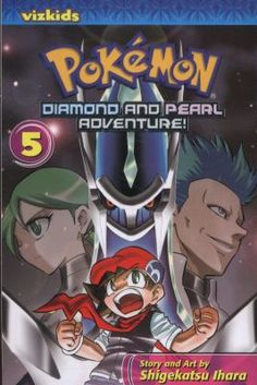 Pokemon Diamond and Pearl Adventure!, Volume 5 by Ihara, Shigekatsu