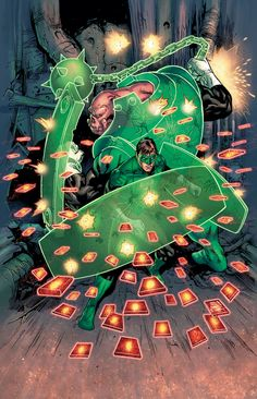 Green Lantern by Billy Tan
