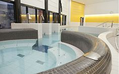 The new indoor swimming pool of Hamina is located right in the city center next to the Hamina Market place. Indoor Swimming Pools, City, Places, Indoor Pools, Cities, Lugares
