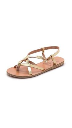 Ancient Greek Sandals Semele Flat Sandals