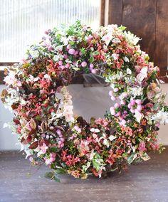 NanaはInstagramを利用しています:「久々にリース作りました。 ピグモンサスを使いたくて( ´艸`) 写真だと少しシャープな感じですけど、どっちかと言うとラブリーな雰囲気なリースになりました(*´ ˘ `*) 来月11月のレッスンは#ギャザリングリース です。 #花で免疫力アップ #ネットショップ…」 Floral Wreath, Wreaths, Instagram, Home Decor, Floral Crown, Decoration Home, Door Wreaths, Room Decor, Deco Mesh Wreaths