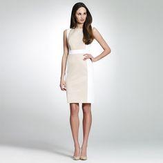 Jones New York: Dresses > Daytime Dresses > Color Block Sheath Dress