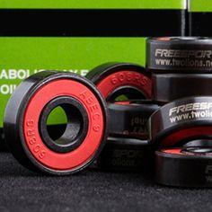 16 pcs Ceramic Skate Bearings zirconia Deep Groove Roller Speed shoes Skateboard Drift Plate rodamientos Suit LongBoard Wheels