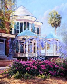 Savannah - June Dudley Fine Art Paintings and Prints