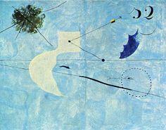 El sueño abstracto Siesta (Joan Miró, 1925)
