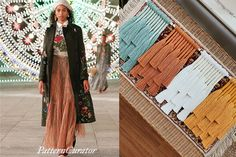 FW21/22 Color Inspiration: OYSTER TURQUOISE Fashion Colours, Oysters, Color Inspiration, Kimono Top, Turquoise, Harvest, Pattern, Tops, Trends