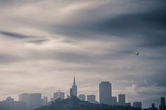 Skyline from the sea.