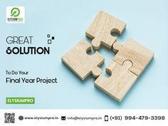 Gain eminent solution for your Final Year Project at ElysiumPro...   #elysiumpro #finalyearprojects #projectcenter #projectwithabstract #projecttitles #alldomainprojects #projectwithsourcecode #projectideas