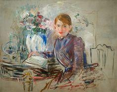 Jeune fille à la potiche - Berthe Morisot 1889 Impressionism Renoir, Henri Fantin Latour, Edouard Manet, Chef D Oeuvre, Oeuvre D'art, Figure Painting, Painting & Drawing, Berthe Morisot, Mary Cassatt