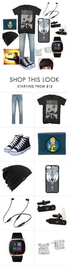 """My friend Owen"" by weird-emo ❤ liked on Polyvore featuring Armani Jeans, Burton, Marcelo Burlon, Beats by Dr. Dre, Ox & Bull Trading Co., iTouch, men's fashion and menswear"