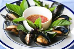 Thai Lemongrass Steamed Mussels Recipes | Mukpin Recipes