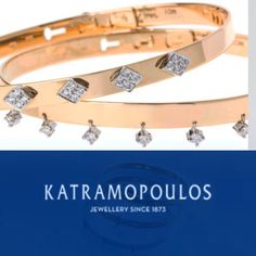 Gold and diamond bracelets for myhydraboutique and sophiadelachouvel at the yacht club of Monaco
