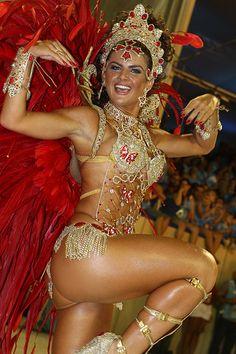 Rio Carnival Samba queen.