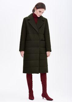 Зимнее пальто надвойном утеплителе. Модель Iver | Купить в osome2some