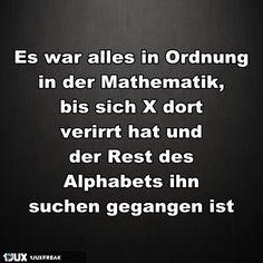 Mathe war nicht immer so übel