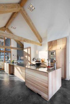 moderne Küche von Kwint architecten