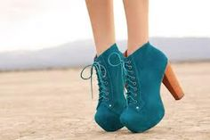 Jeffrey Campbell #Turquoise shoes