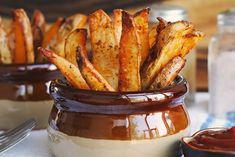 Malt Vinegar Oven Fries