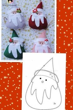Quick and easy christmas craft for last minute crafters.