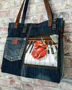 Jeans com aplicação