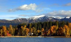 Whitefish, Glacier National Park in the Flathead Valley. #autumn #fall in colors #world