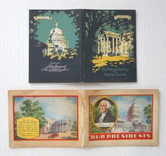 1930's Alka-Seltzer & John Hancock Insurance Advertising Books ► http://etsy.me/1OHyBe8