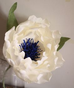 Giant crepe paper peony. Bride bridesmaid flower, reception flowers, house decor. Photo prop. Backdrop Giant paper flower SHIPS IN 3-4 WEEKS