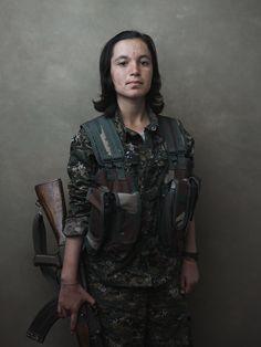 Women of the Shingal Resistance Unit: Berxwedan, Evrim, Amara, and  Sinjar Mountain, Iraq /Joey L. - NYC-based Photographer and Director