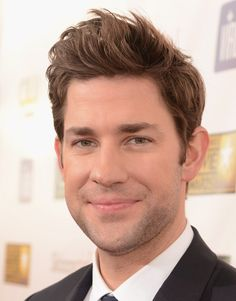 John Krasinski. His hair is great