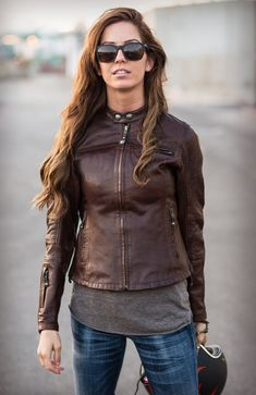 The Maven   A Womens Motorcycle Jacket by Roland Sands- Harper