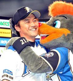 Makoto Kaneko and B.B (Hokkaido Nippon-Ham Fighters)