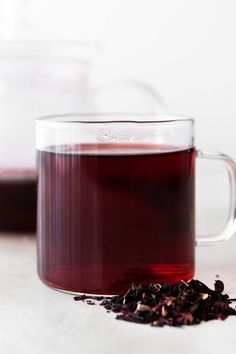 Hibiscus Plant, Hibiscus Tea, Bisquick Blueberry Muffins, Glass Teapot, Tea Companies, Teapots And Cups, Brewing Tea, Blue Berry Muffins, Simple Syrup