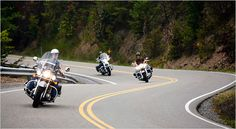 motorcycles on us 129 | Shawn Poynter for The New York Times