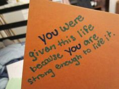 #quotes #strong